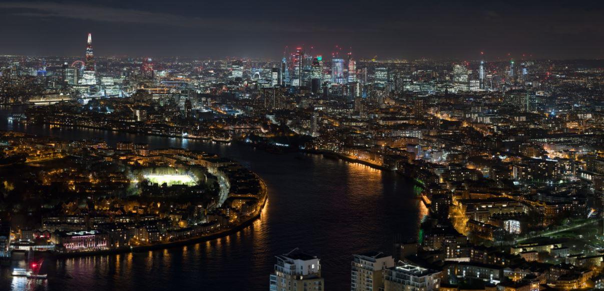 در تایم لپس 7.3 گیگاپیکسلی لندن غرق شوید!