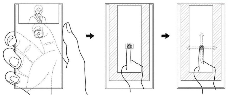 Samsung foldback phone selfie photo - حق اختراع دیگری از سامسونگ برای موبایل با نمایشگر منعطف با فقط یک دوربین
