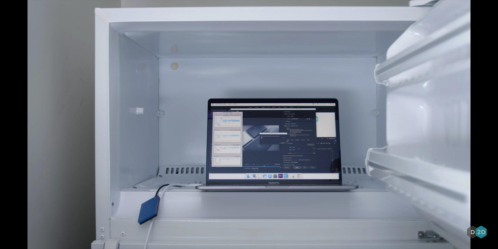 مک بوک پرو i9 جدید لپتاپ خوبی است اما وقتی درون فریز باشد!