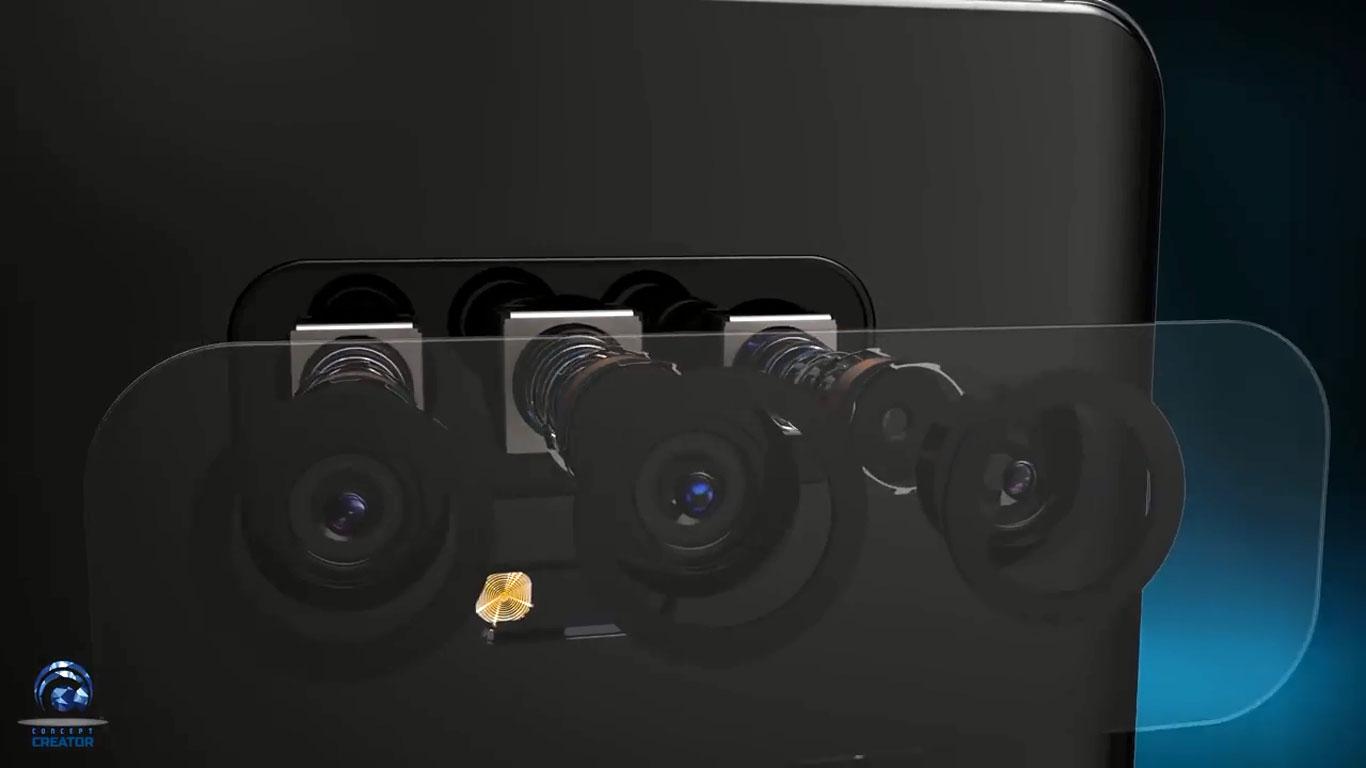 مشخصات دوربین سه گانه سامسونگ گلکسی اس 10 پلاس لو رفت