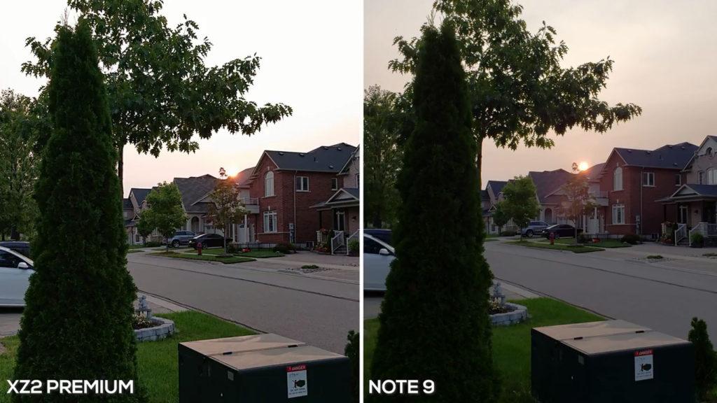 Galaxy note 9 VS Xperia XZ2 Premium Camera 4 1024x576 - مقایسه دوربین گلکسی نوت 9 با اکسپریا ایکس زد 2 پریمیوم