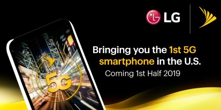 ال جی اولین موبایل 5G را با همکاری Sprint به امریکا خواهد برد