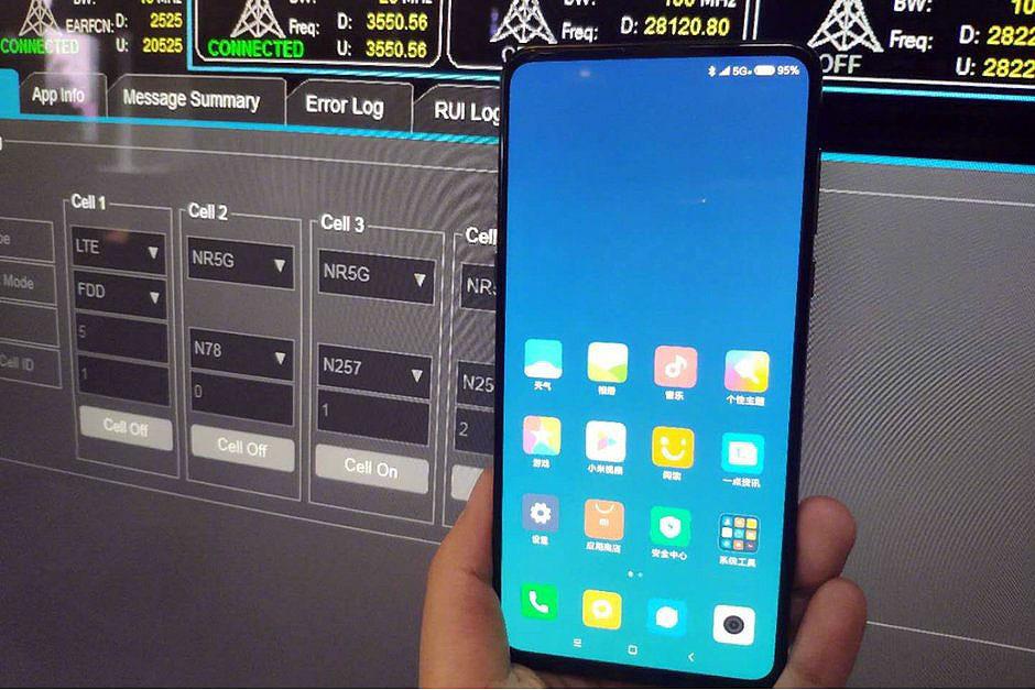 این شیائومی می میکس 3 با شبکه 5G است؟
