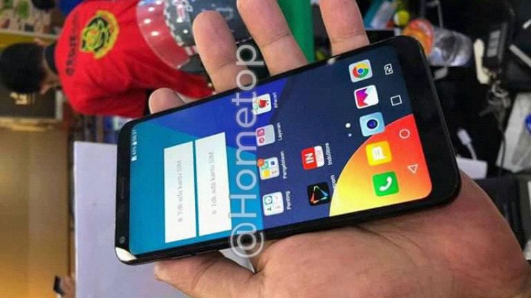 مشخصات ال جی کیو 9 (LG Q9) در کنار تصویری از آن لو رفت