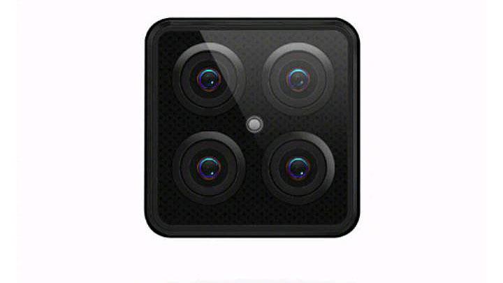 دوربین چهارگانه لنوو