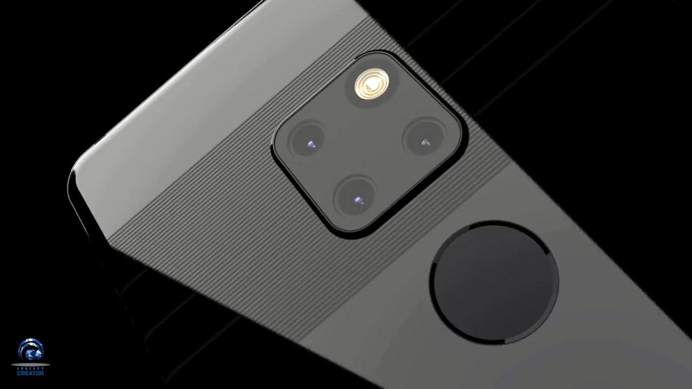 هوآوی میت 20 پرو (Huawei Mate 20) را در این طرح مفهومی ببینید