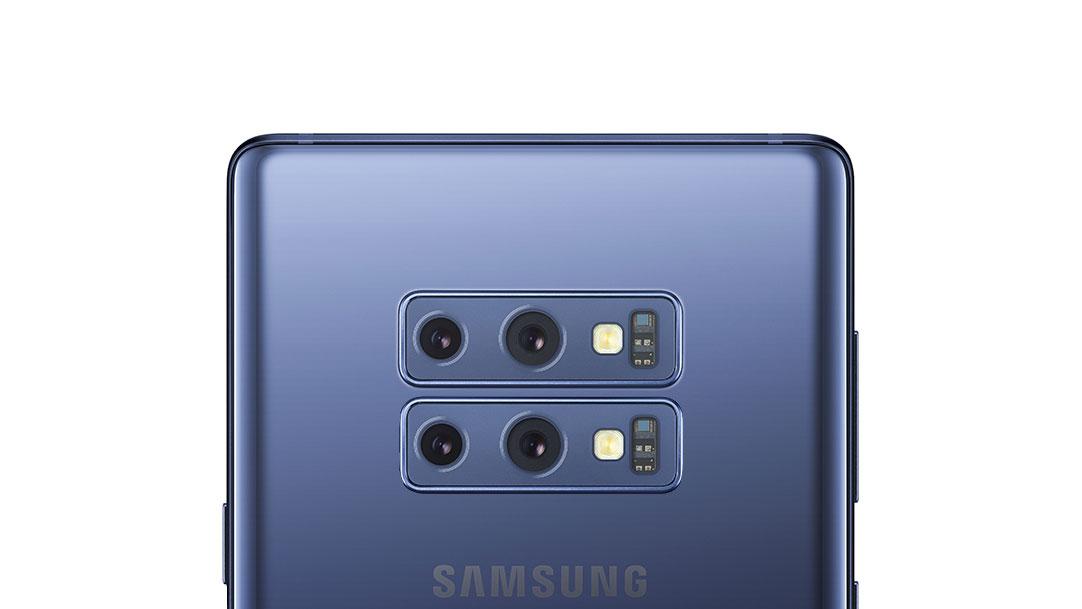 دوربین 4 گانه برای یکی از موبایل های آتی سامسونگ محتمل است