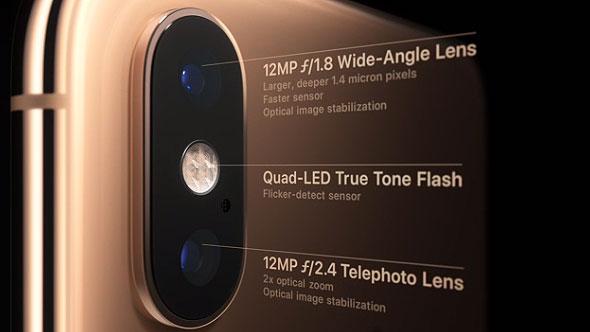 دوربین دوگانه آیفون تن اس