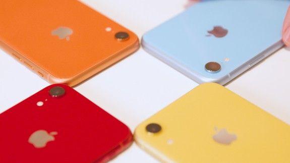 تمام رنگ آیفون Xr را ببینید
