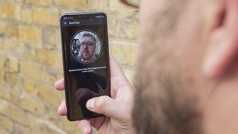 سیستم تشخیص چهره ۳ بعدی هوآوی میت ۲۰ پرو