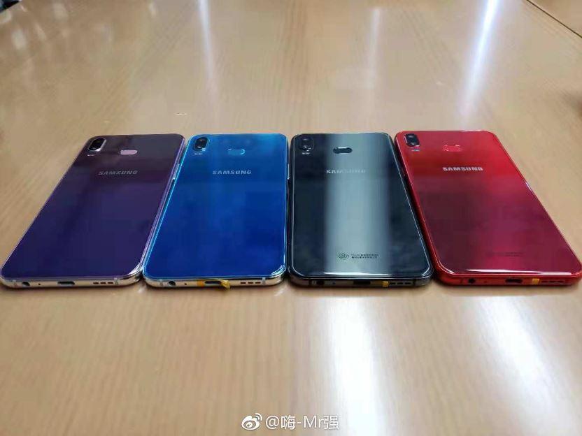 موبایل های پایین رده سامسونگ در سال ۲۰۱۹ شاهد طراحی و رنگبندی جدیدی خواهند بود