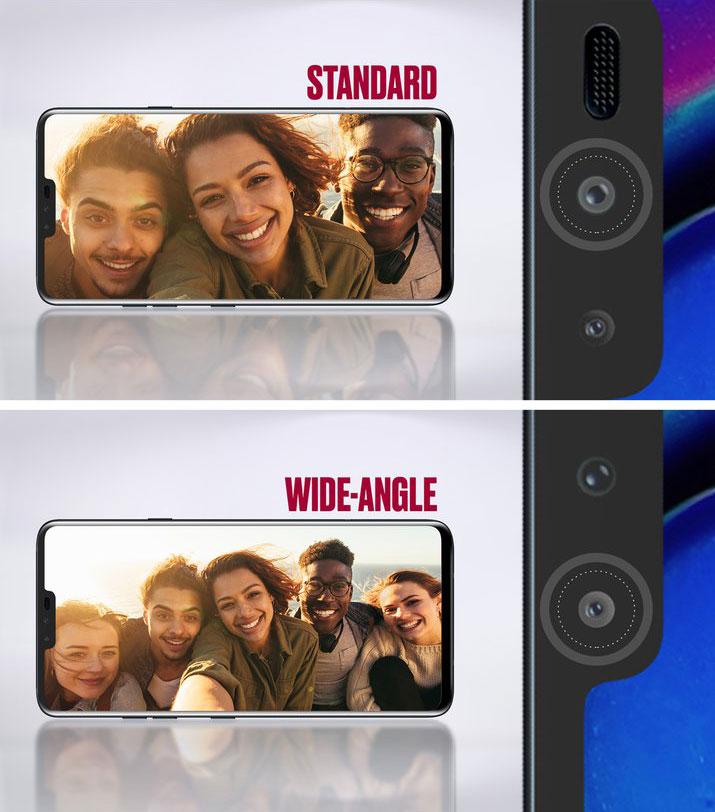 LG V40 Dual Selfie Camera