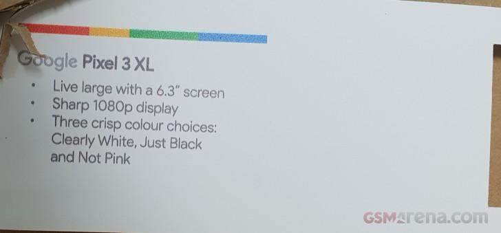 نمایشگر پیکسل 3 ایکس ال با رزلوشن FHD+ عرضه می شود، یک عقبگرد