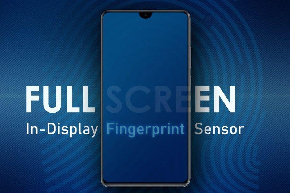 حق اختراع سامسونگ برای موبایل با بریدگی نمایشگر قطره ای و حسگر اثرانگشت یکپارچه با نمایشگر