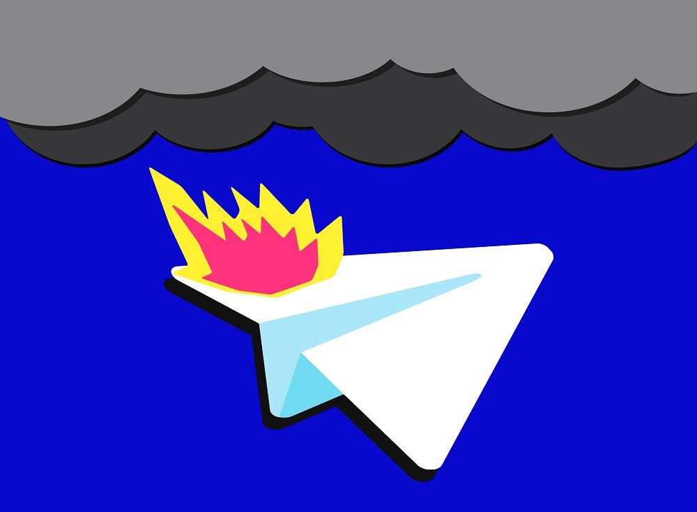اختلال تلگرام