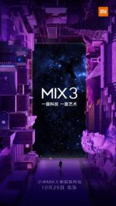 Xiaomi Mi Mix 3 launch 576x1024 169x300 - تاریخ معرفی رسمی شیائومی می میکس ۳ (Xiaomi Mi Mix 3) مشخص شد: 3 آبان