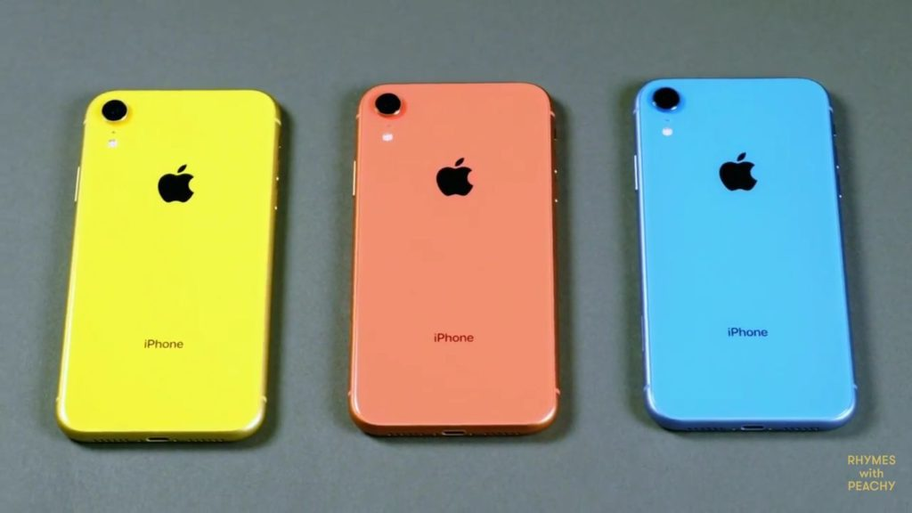 رنگ های آیفون Xr