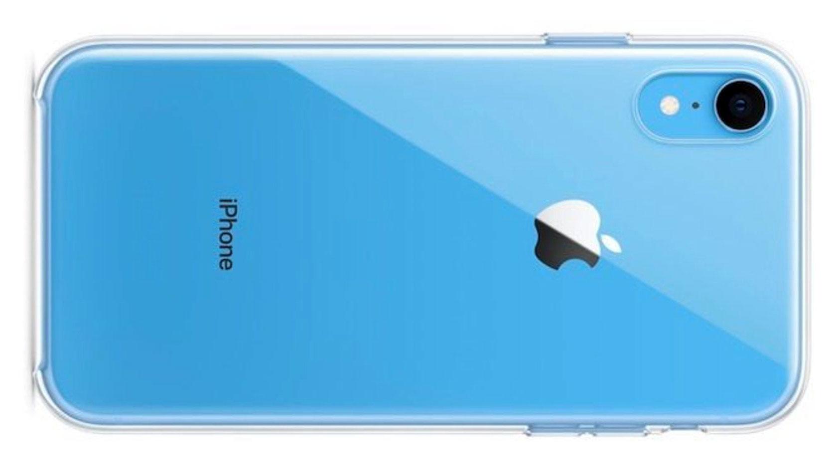 قاب شفاف آیفون تن آر (iPhone XR)