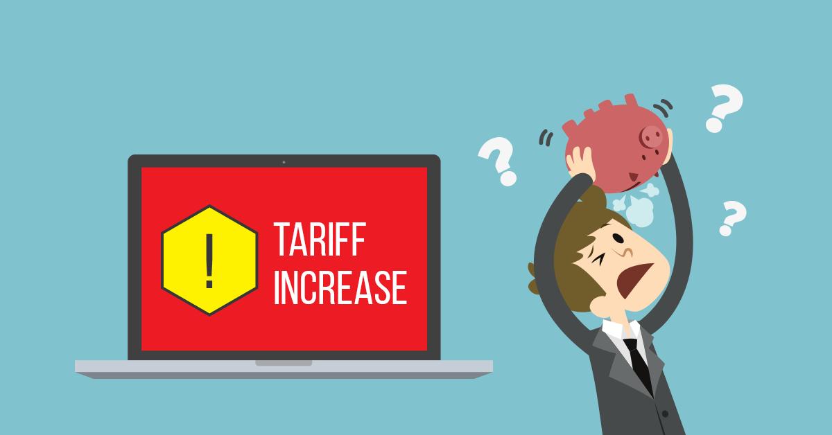 افزایش قیمت بسته های اینترنت