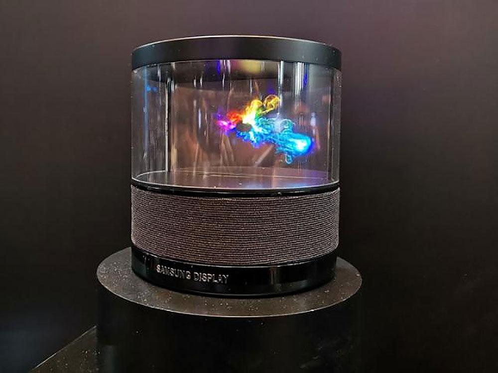 نمایشگر OLED شفاف سامسونگ