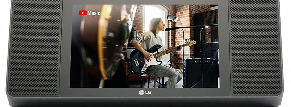 بلندگوی هوشمند ال جی با نمایشگر ۸ اینچی و قیمت ۳۰۰ دلار معرفی شد: با LG XBOOM AI ThinQ WK9 آشنا شوید