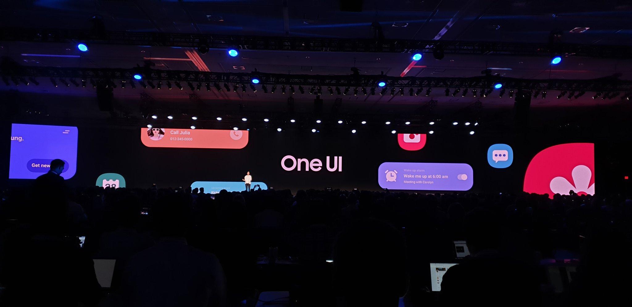 تغییر نام رابط کاربری سامسونگ به One UI