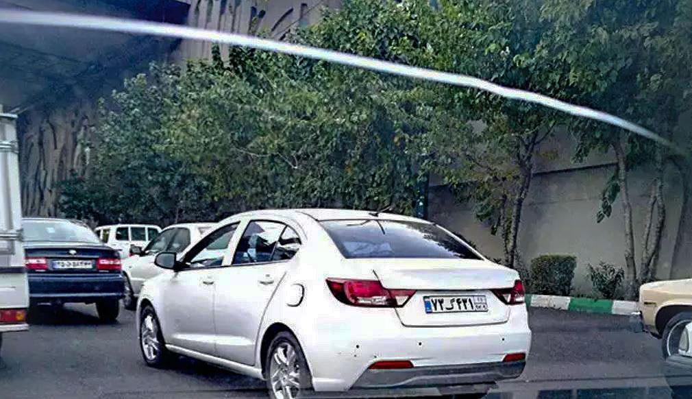 سایپا رهام در حال تست فنی در جاده های کشور است