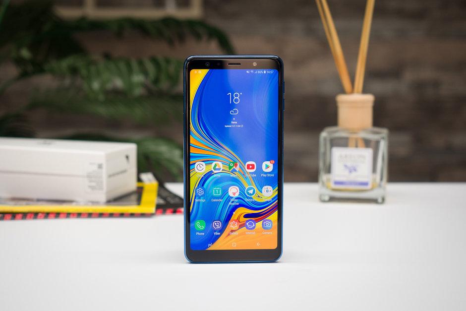 عمر باتری گلکسی ای ۷ ۲۰۱۸ (Galaxy A7 2018) مشخص شد