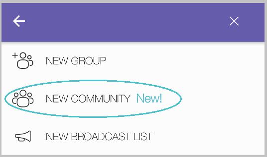 ساخت گروه یک میلیاردی Viber Communities
