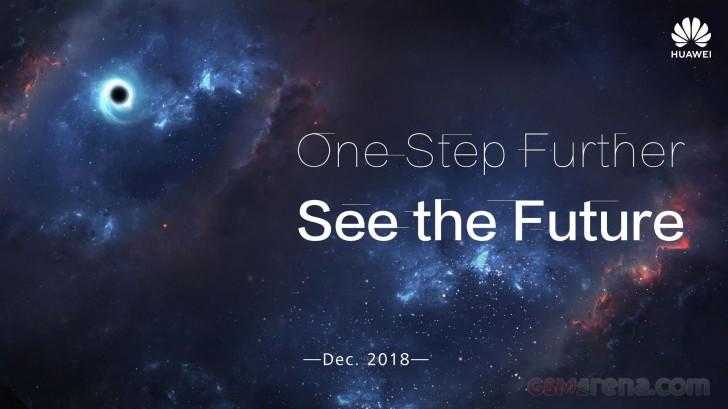پوستر جدید هوآوی با اشاره به سوراخ نمایشگر