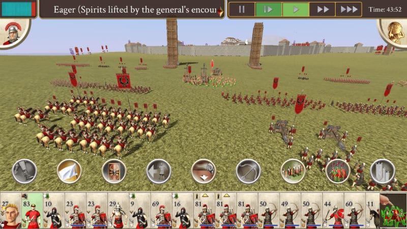 بازی ROME: Total War برای اندروید