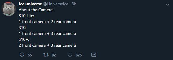 دوربین خانواده گلکسی اس ۱۰