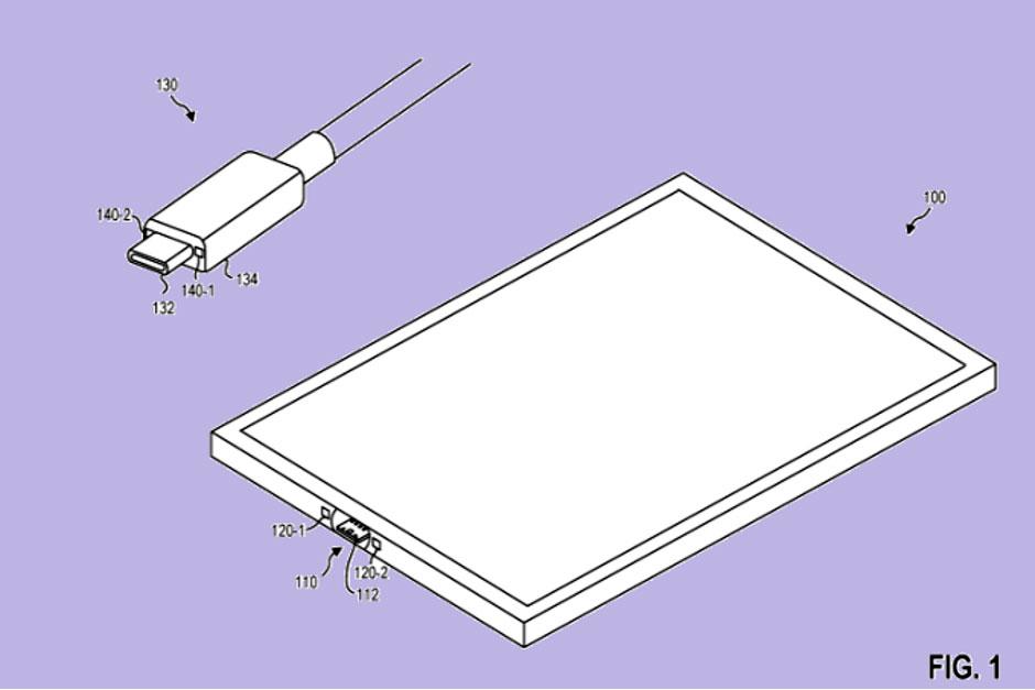 مایکروسافت پورت USB C آهنربایی برای سرفیس توسعه می دهد