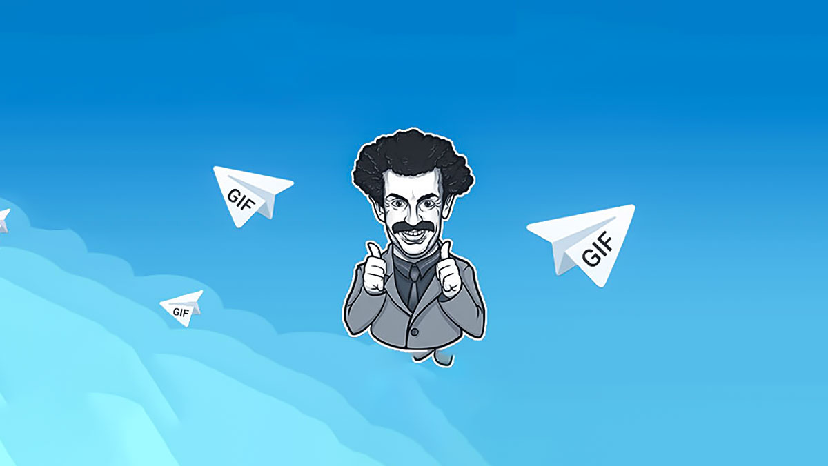 آموزش ارسال Gif بدون افت کیفیت در تلگرام