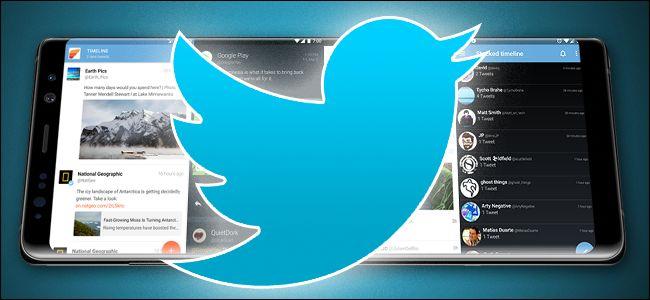 توییتر اندروید