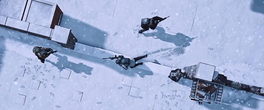 باقی ماندن جای پا و رد حرکات روی برف در نقشه جدید پابجی