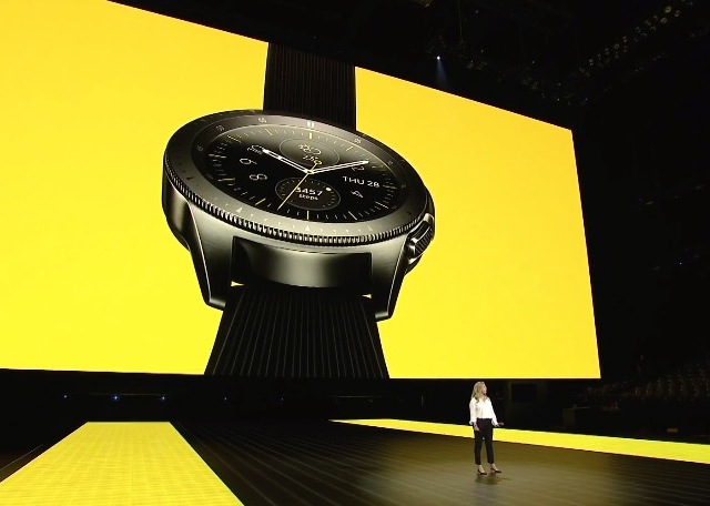 ساعت هوشمند سامسونگ با حسگر اثرانگشت و بلندگوی یکپارچه با نمایشگر ارایه می شود