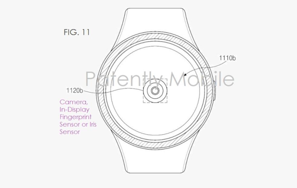 حق اختراع ساعت هوشمند سامسونگ