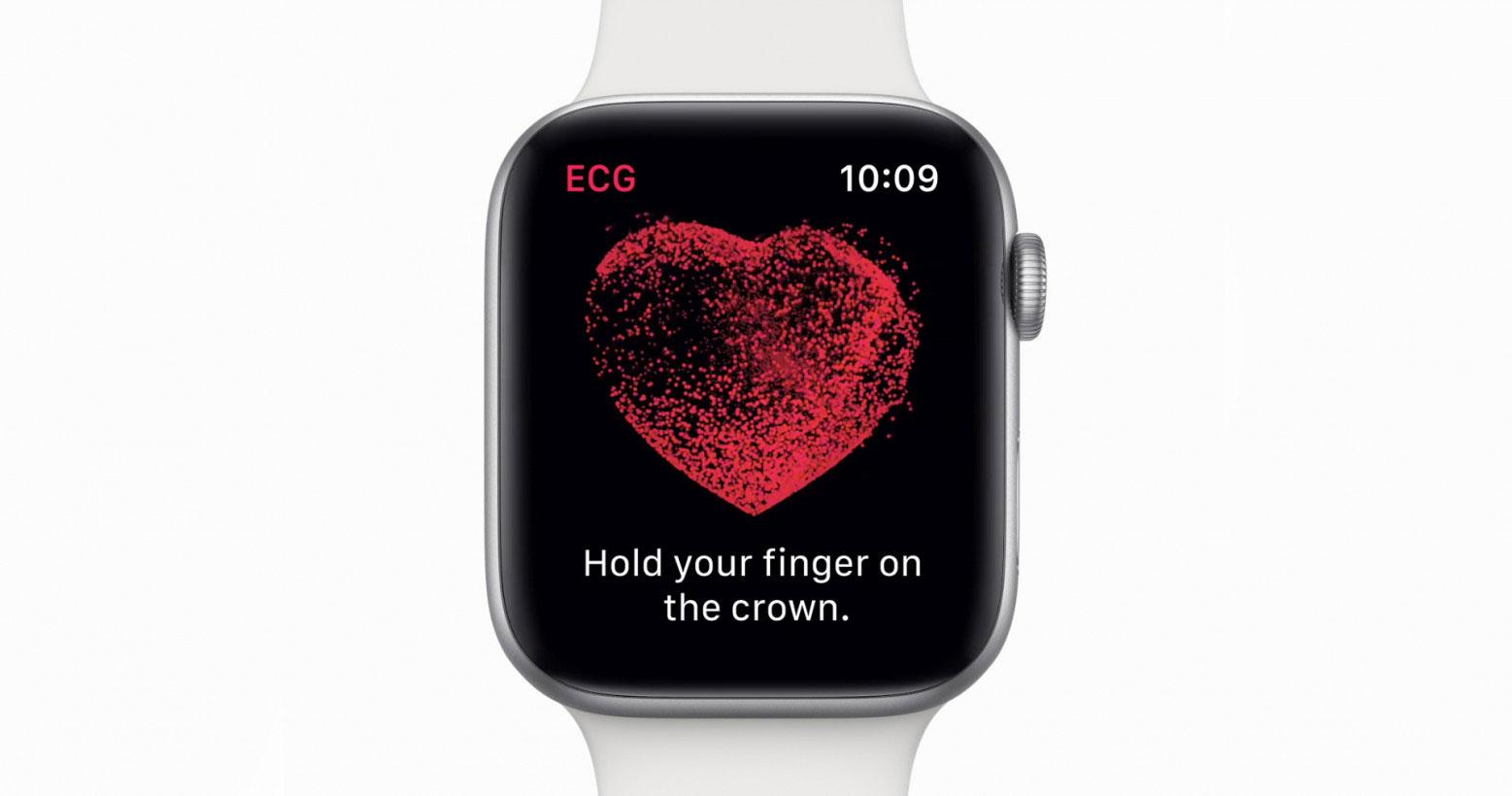 قابلیت ECG اپل واچ ۴