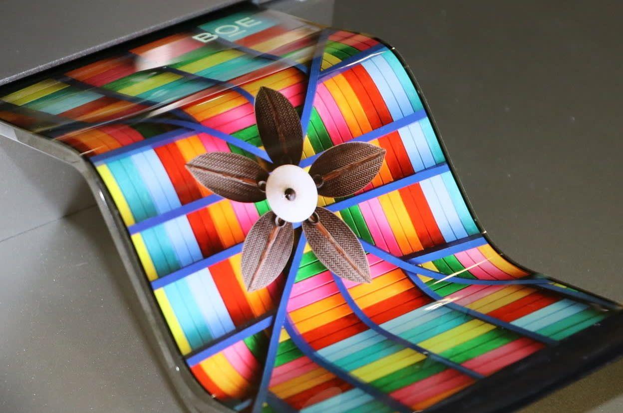 سامسونگ نگران از رشد تولیدکننده های نمایشگر OLED چینی