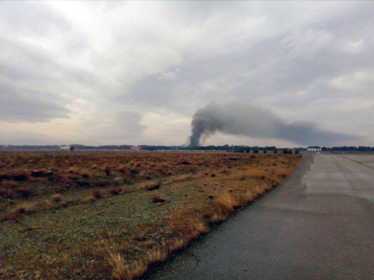 سقوط هواپیمای باری بویینگ ۷۰۷ حوالی فرودگاه فتح کرج