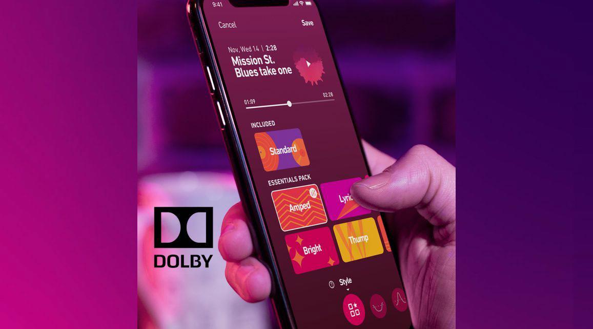 نرم افزار Dolby Live