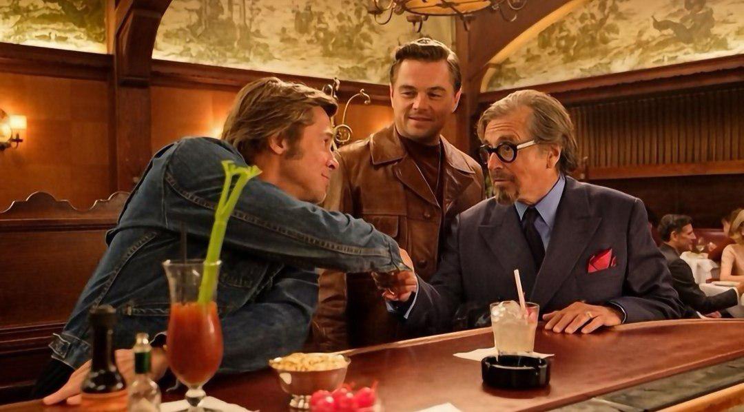 آل پاچینو در کنار لئوناردو دیکاپریو و برد پیت را در فیلم روزی روزگاری در هالیوود ببینید