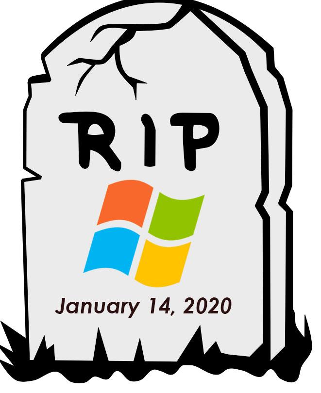 پایان عمر ویندوز ۷