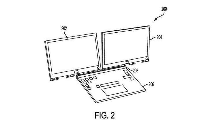 لپتاپ با دو نمایشگر