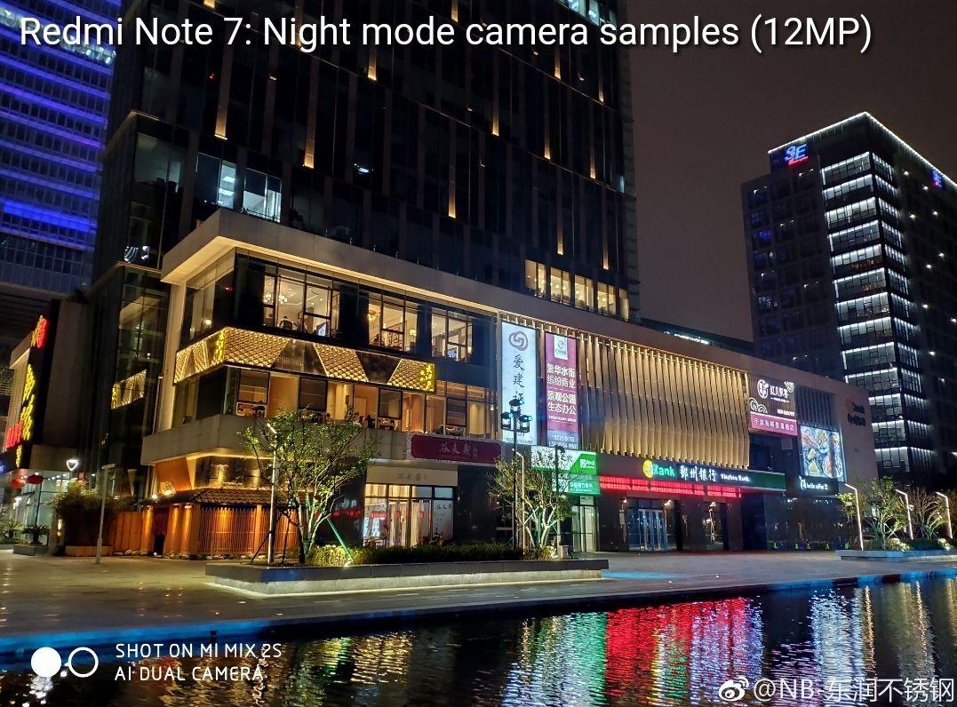 نمونه عکاسی شب دوربین ردمی نوت ۷ با حالت Night Mode را ببینید