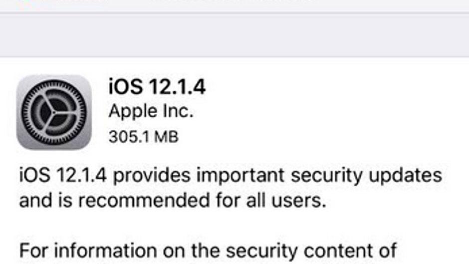 باگ امنیتی فیس تایم در آپدیت iOS 12.1.4 برطرف شد