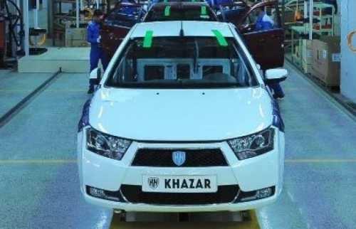 ایران خودرو دنا را به اروپا صادر می کند