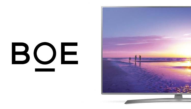 شرکت BOE حالا بزرگترین تولیدکننده پنلهای LCD تلویزیون و مانیتور است