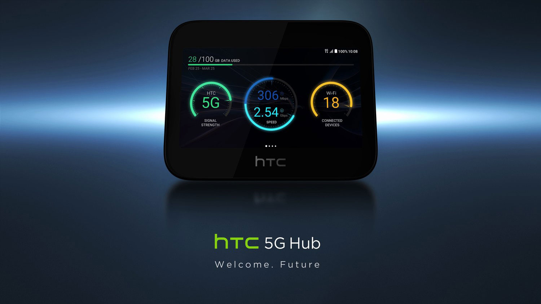 تبلت هاب 5G اچ تی سی (HTC 5G Hub) را ببینید